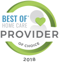 Home Care For Seniors | At Your Side Home Care | The Woodlands, TX - 2018_provider_of_choice_0
