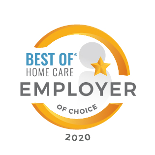 Home Care For Seniors | At Your Side Home Care | The Woodlands, TX - Employer_of_Choice_2020