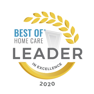 Home Care For Seniors | At Your Side Home Care | The Woodlands, TX - Leader_in_Excellence_2020