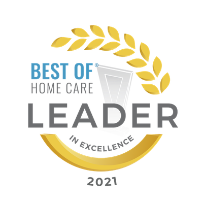 Home Care For Seniors | At Your Side Home Care | The Woodlands, TX - Leader_in_Excellence_2021