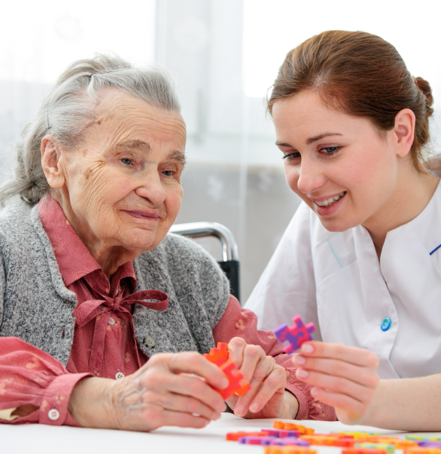 Alzheimer's and Dementia Care - At Your Side Home Care - image-content-puzzle